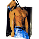 Man with Sexy Chest Gift Bag ~ EL-5990-70