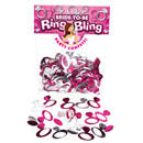Ring Bling Party Confetti ~ EL-6068-50