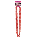 Bachelorette Party Red Metallic Beads ~ EL-7860-20