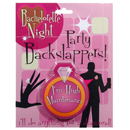 Bachelorette Night Backslappers ~ EL-7996-01