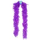 Purple 6 Foot Feather Boa ~ EL-8302-03