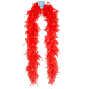 Red Heavy Weight Chandelle Boa ~ EL-8303-02