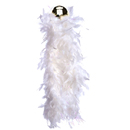 White Heavy Weight Chandelle Boa ~ EL-8303-03