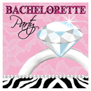 Bachelorette Party Diamond Ring Napkins ~ EL-8611-03