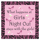 Girls Night Out Cocktail Napkin Party Game ~ EL-8611-17