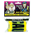Caution Just Married Party Tape ~ EL-8639-02