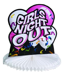 Girls Night Out Centerpiece ~ HTP2346