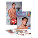 Pin The Macho On The Man Game ~ PD8204-99