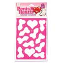 Penis and Heart Pink Cookie Cutters ~ SE2410-40